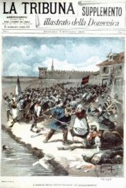 La Tribuna magazine, September 8, 1893. The slaughter at Aigues Mortes