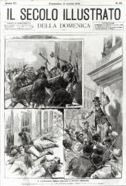USA, Louisiana, New Orleans, 1891. Mass killing of Italians. The dead belonged to the Sicilian community and were simply considered mafiosi. Enraged citizens took them out of the prison where they had been locked up on a charge of killing the city police commander, and slaughtered them